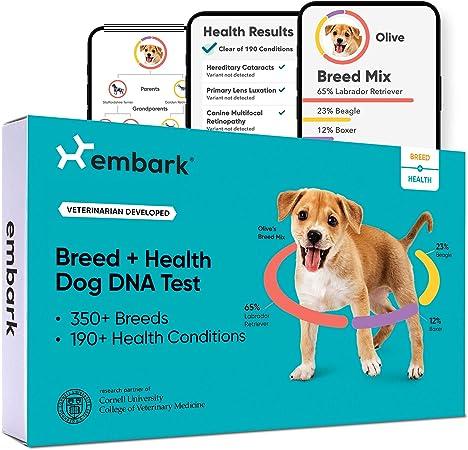 Embark | Dog DNA Test | Breed & Health Kit