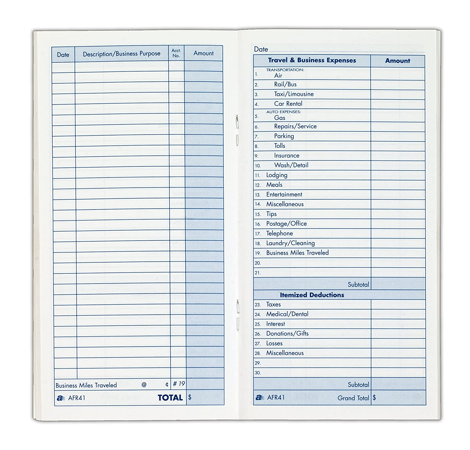 lovely adams expense record book 3 25 x 6 25 inches 48 pages