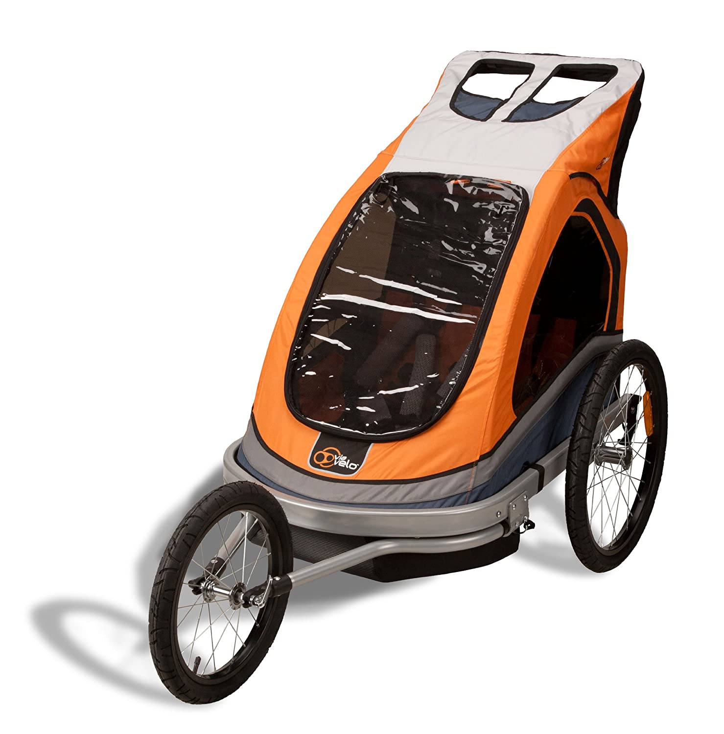 Amazon Montalban Trailer 3 with Jogger Conversion Folds Flat for Storage Baby