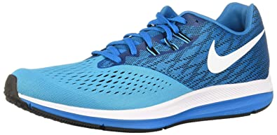 f5f747d5d4808 Nike Men's Air Zoom Winflo 4 Running Shoes: Amazon.co.uk: Shoes & Bags