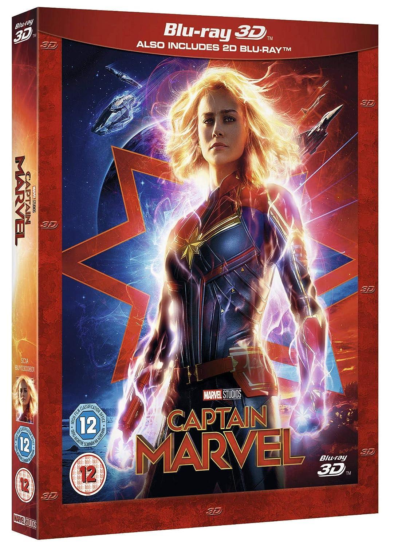 Amazon.com: Captain Marvel [Blu-ray 3D] [2019]: Movies & TV