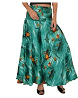 SNS Cotton Printed Wide Leg Palazzo Pants Trouser Pajama for Women Casual Wear