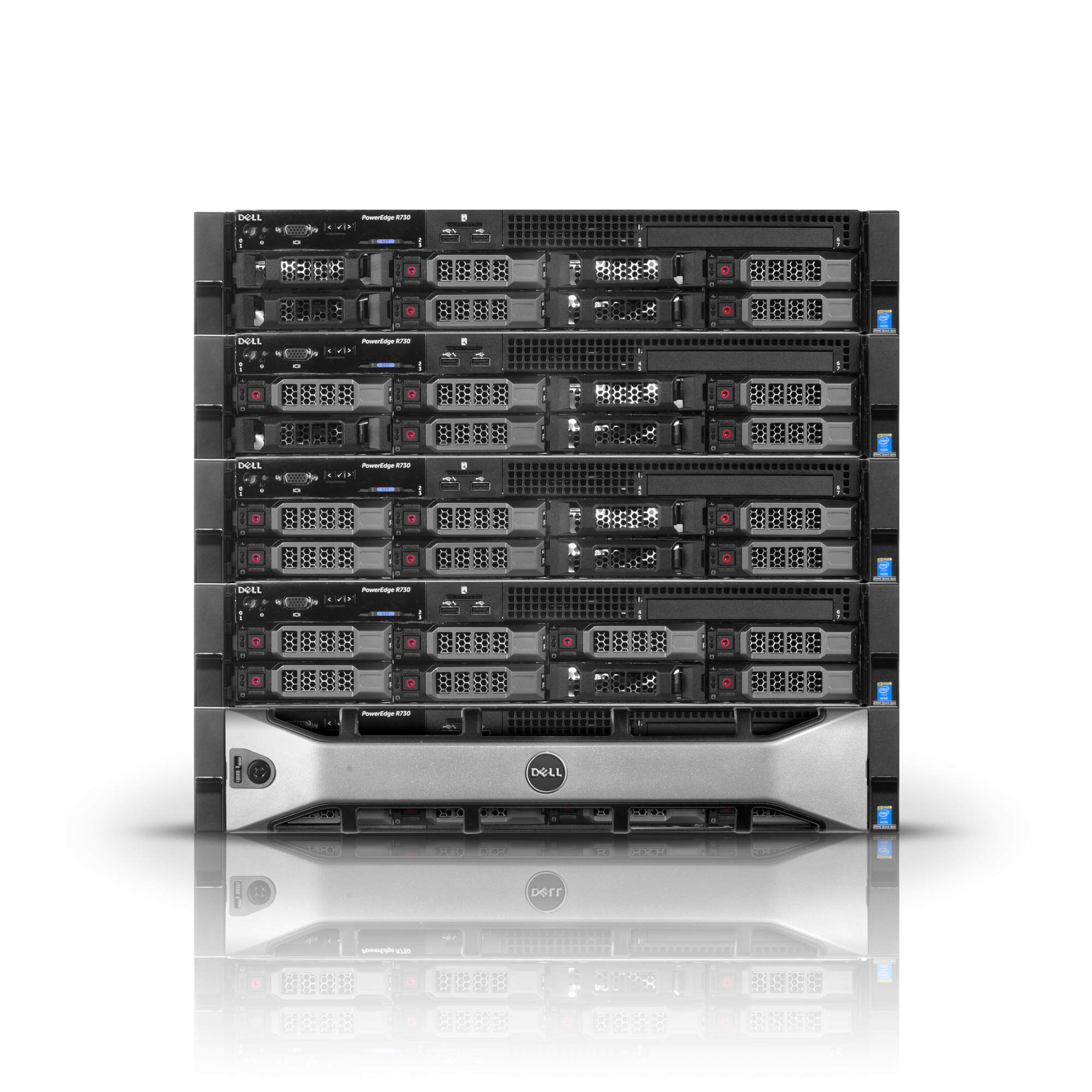 Dell PowerEdge R730 Server | 2X 2.60GHz 20 Cores | 128GB | H730 | 32TB Storage (Renewed) by PowerEdge