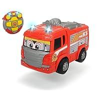 Dickie Toys 203814031 - RC Happy Scania Fire Engine, funkferngesteuertes Feuerwehrauto, für Kleinkinder ab 2 Jahren, 27 cm