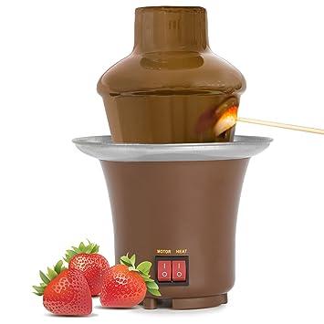 Amazonde Oramics Schokobrunnen Schokoladen Kaskade Für 800 Ml