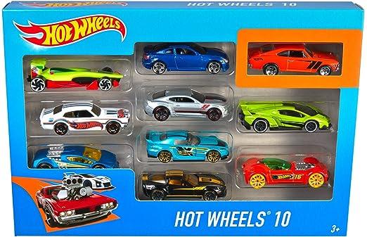 250 opinioni per Hot Wheels 54886-0- HWS- Set da 10, Assortiti