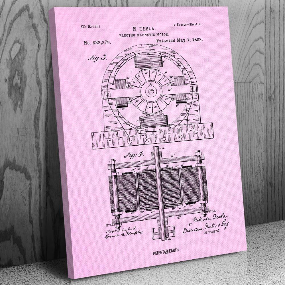tesla motor design diagram pics all wiring diagram How Electric Cars Work amazon com tesla electromagnetic motor canvas patent art print tesla motor blueprint tesla motor design diagram pics