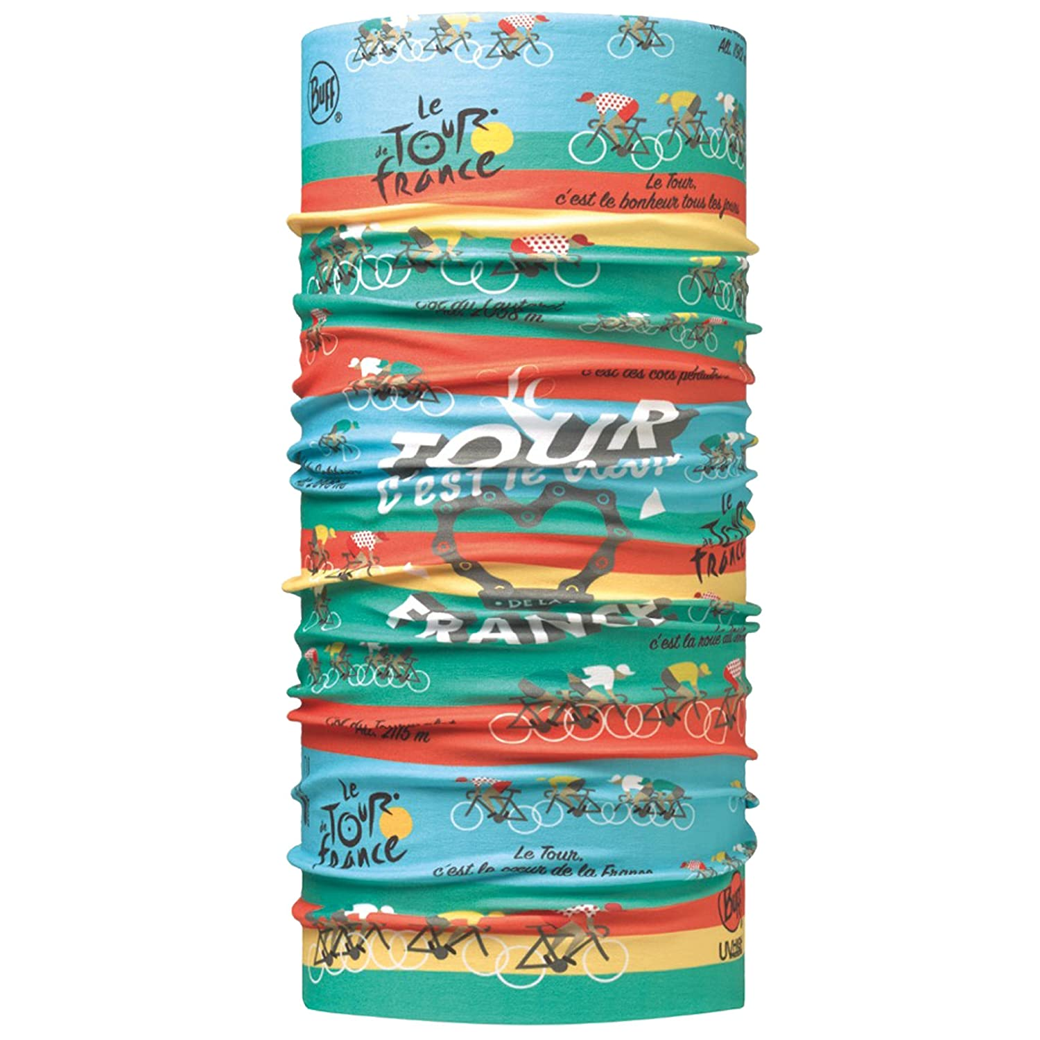 Buff High Uv Protection Tour De France Multifunktionstuch Le 16 Multi One Size Original Buff S.A.