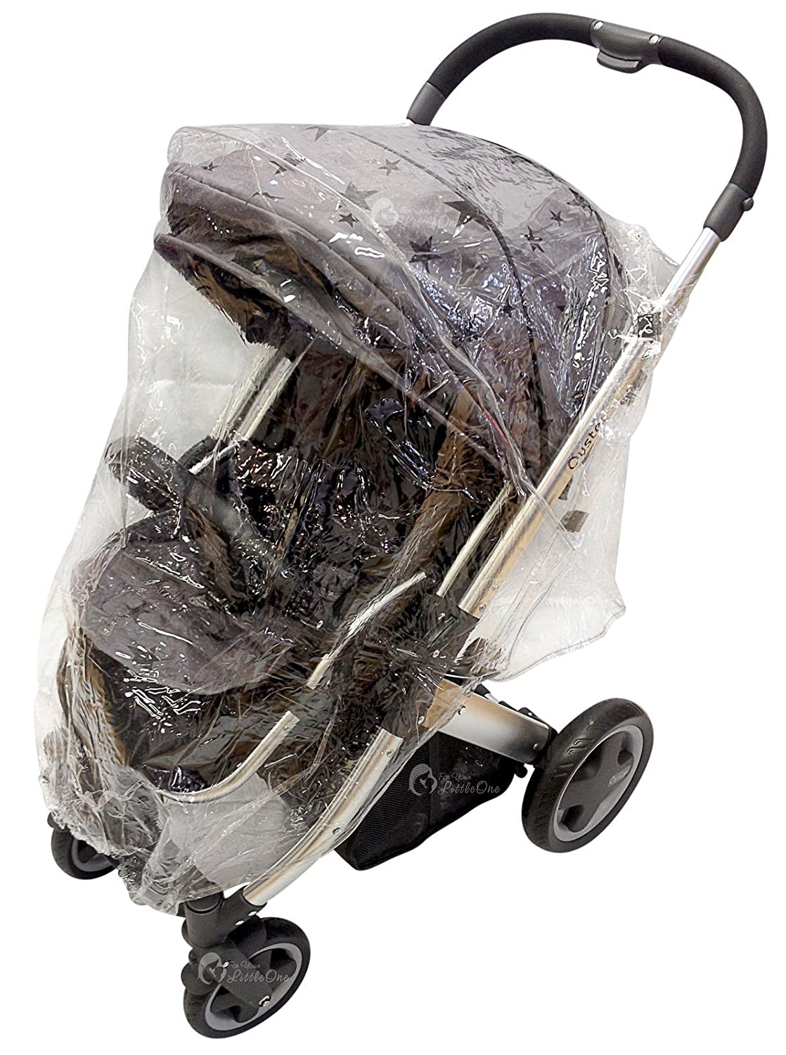 Raincover Compatible with I/'Candy Peach 142 Peach 2 Pushchair