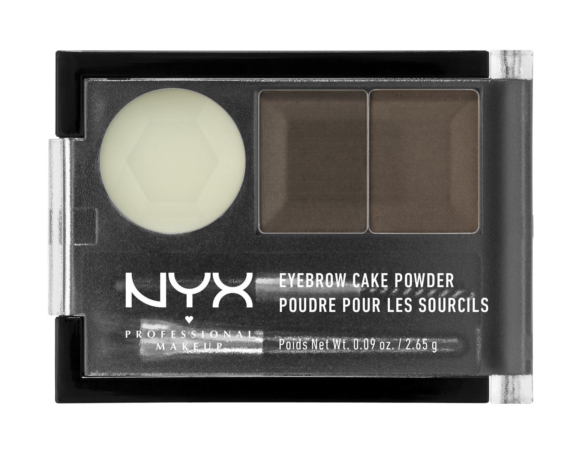 Amazon Nyx Eyebrow Cake Powder Dark Brownbrown Eyebrow