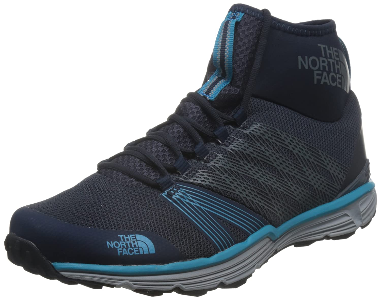 The North Face Litewave Ampere II, Zapatillas de Running para Hombre, Azul (Urban Navy/Seaport Blue), 45.5 EU 45.5 EU|Azul (Urban Navy/Seaport Blue)