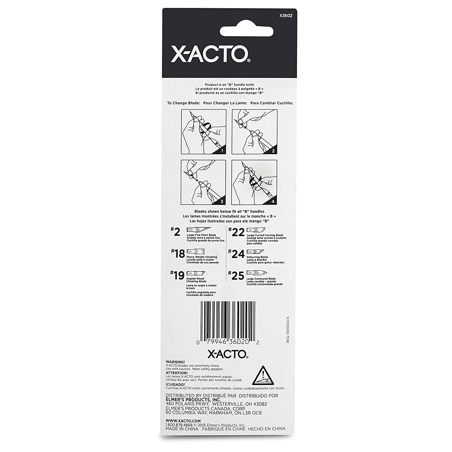 X-Acto Craft Tools #1 Knife with Safety Cap, Pink