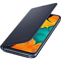 Capa Protetora Flip Wallet Galaxy A30, Samsung, Capa Protetora Para Celular, Preta