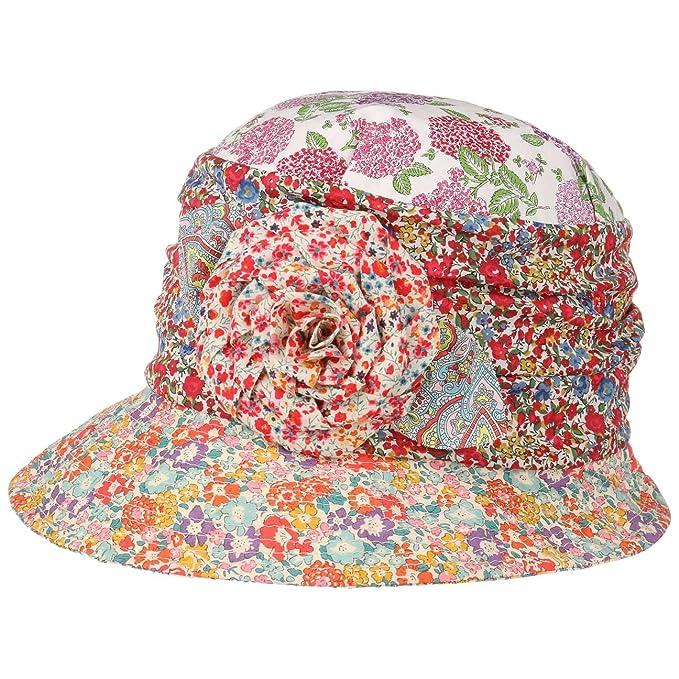 Cappello Cloche Flower Patchwork GREVI cappello di tessuto cappello estivo  Taglia unica - a colori  Amazon.it  Abbigliamento b6266da222d4