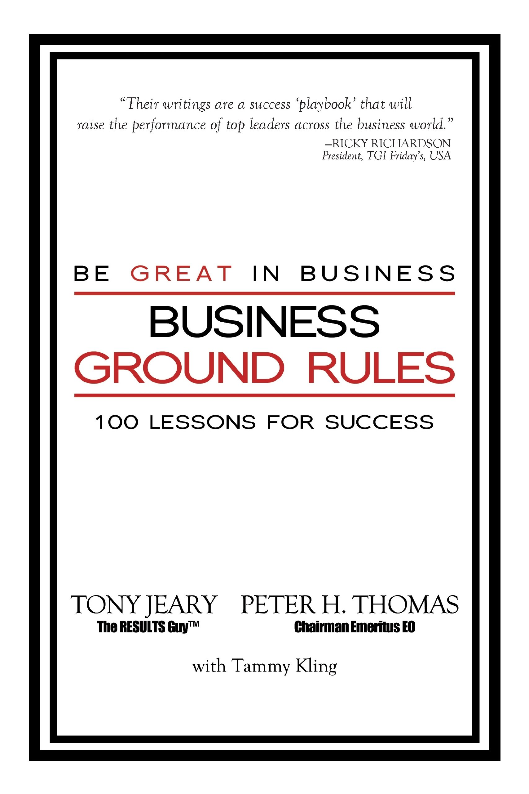 Download Business Ground Rules: Be Great in Business pdf epub