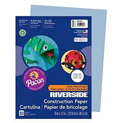 Pacon Riverside Construction Paper : Office Products