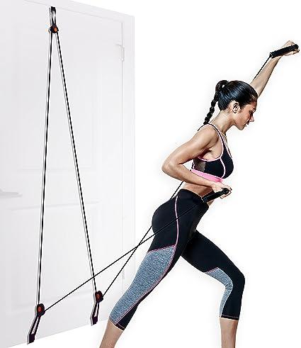 Amazon aduro sport door gym home gym total body resistance