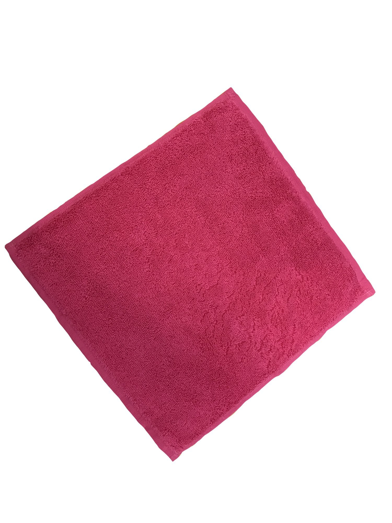 100% Turkish Soft Cotton Washcloth, Made in Turkey (Set of 12, Hot Pink)