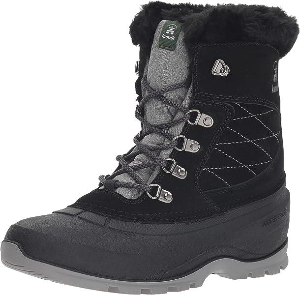 Kamik Black Us Medium Boot Women's Snovalleyl 10 Snow zrxIg1zwFq