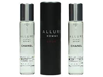 chanel allure homme sport. chanel allure homme sport travel set contains eau de cologne/replacement