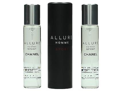 Chanel Allure Homme Sport Agua de Colonia + 2 Recambios - 1 Pack