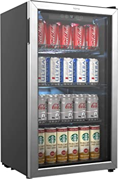 hOmeLabs Mini Beverage Under-counter Refrigerator