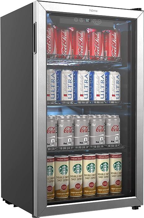 HOmeLabs Beverage Refrigerator And Cooler 120