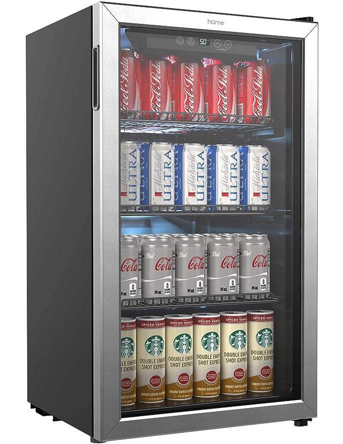 Amazon Homelabs Beverage Refrigerator And Cooler Mini Fridge
