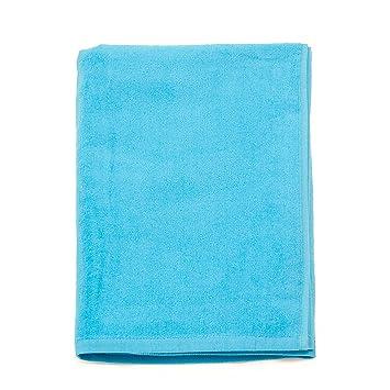Serviette Bleu Marine Uni Drap de Bain