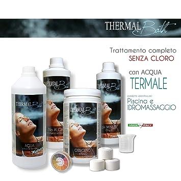 Thermal Bath Kit – Juego para tratamiento agua a base de agua termale para Spa con