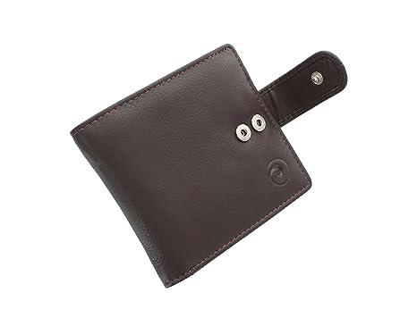 Mala Cuero Origen colección de cuero Cartera Bi-Fold Con RFID Protección 186_5 Brown