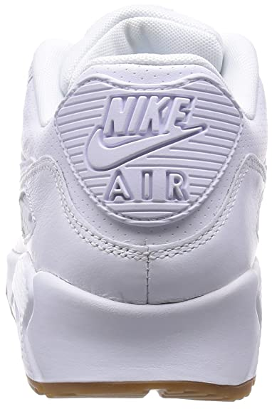 Nike Herren Air Max 90 Leather Pa Sneakers, Weiß (111 White