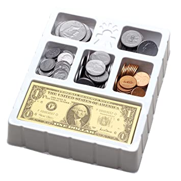 Amazon.com: Educational Insights Play Money - Coins & Bills Try ...