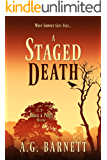 A Staged Death: When showbiz gets ugly... (A Brock & Poole Mystery Book 2)