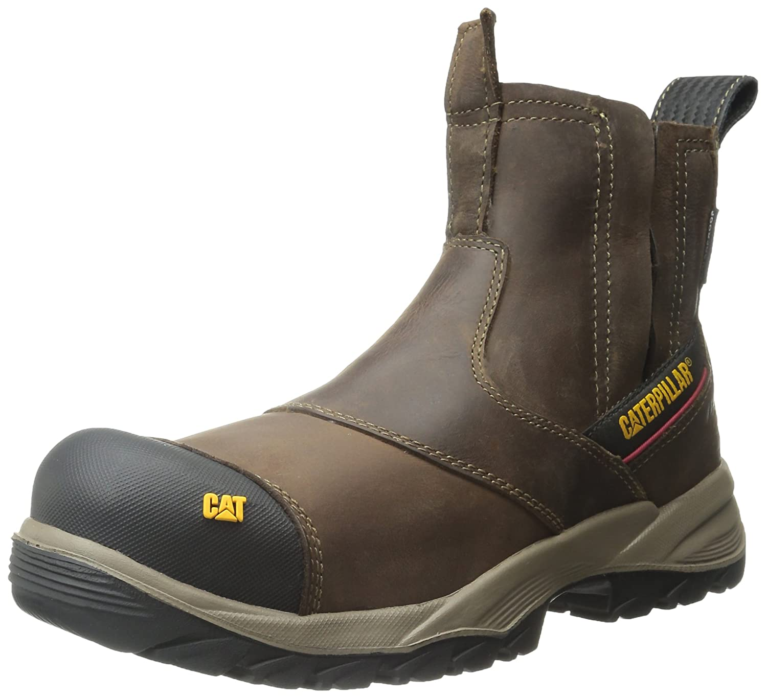 Caterpillar Men 's Jointer防水Comp Toe Work Boot B00U1TM6UW 8.5 W US Men|クレイ クレイ 8.5 W US Men