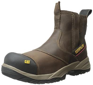 new style 95f0b 6c898 Caterpillar Jointer Waterproof Composite Toe Work Boot Men 7 Clay