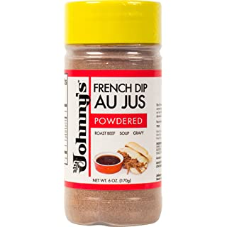 Johnny's French Dip Au Jus Powder, 6 Ounce (Pack of 6)