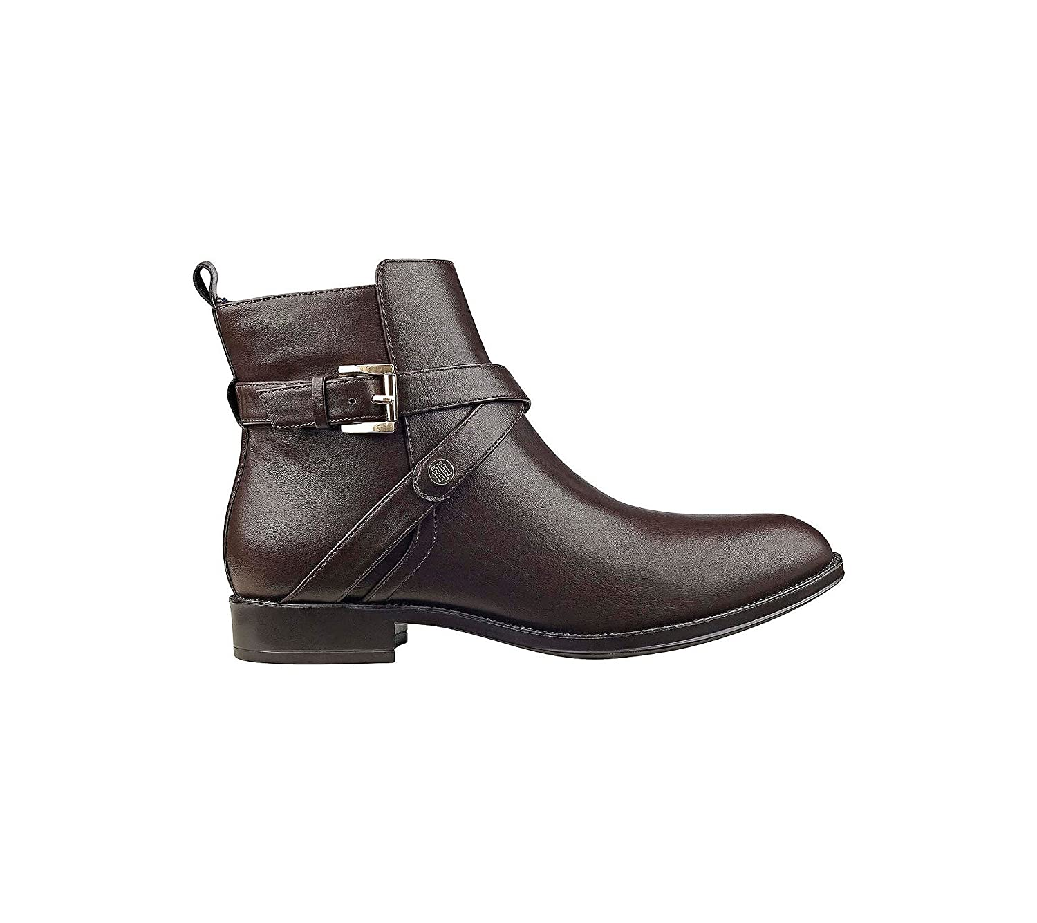 ff24c537d80bf Tommy Hilfiger Rambit Casual Booties Brown 5 M  Amazon.co.uk  Shoes   Bags