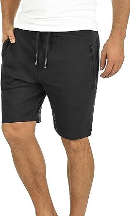 Solid Taras Pantalón Corto Chándal Sweat- Bermudas para Hombre ...