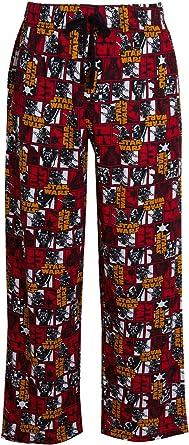 Pantalones de Darth Vader con cordón para hombre, diseño de Star War