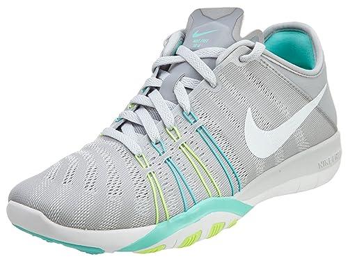 NIKE Damen Laufschuh WMNS Nike Free TR 6 schwarz weiß gelb