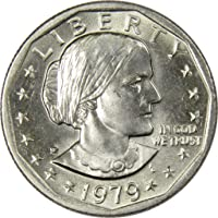 1979 P Wide Rim Near Date $1 Susan B Anthony SBA Dollar Coin BU Uncirculated