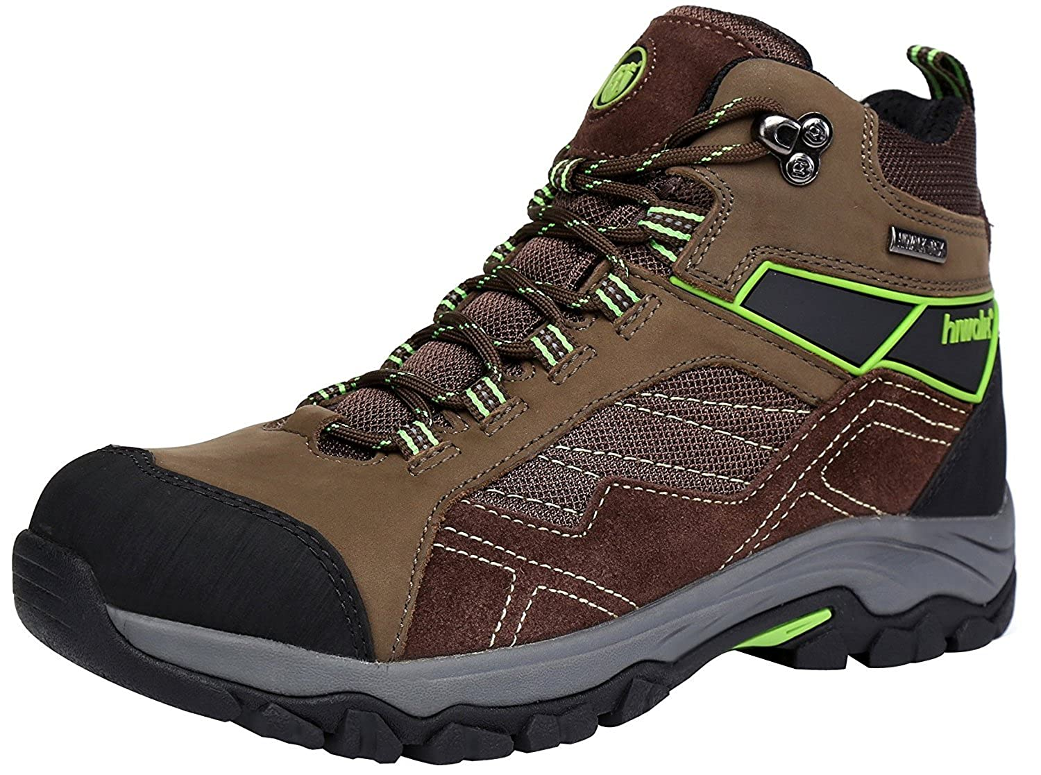 Hiwalk Men's Taurus Professional Waterproof Nubuck Suede Hiking Trekking Boot