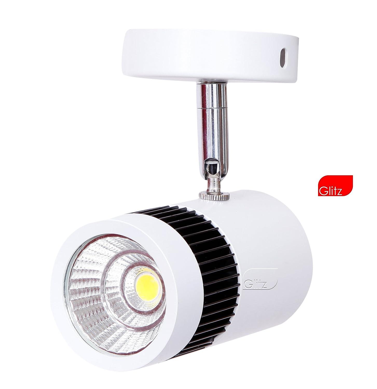 Glitz 7WSPWH 6W 6500K Finest Quality Led Spot Light (Cool White)