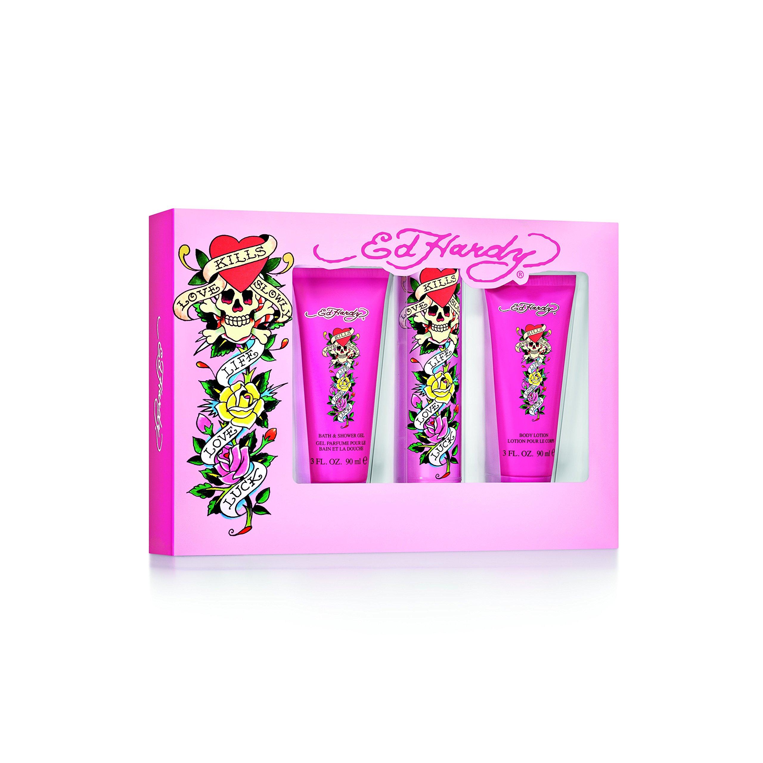 Ed Hardy Ladies Gift Set, 1 Count