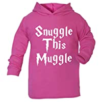 Snuggle this Muggle Harry Potter Inspired Children's Hoodie Toddler Hoodie Children's Top (2-3 Years, Pink)