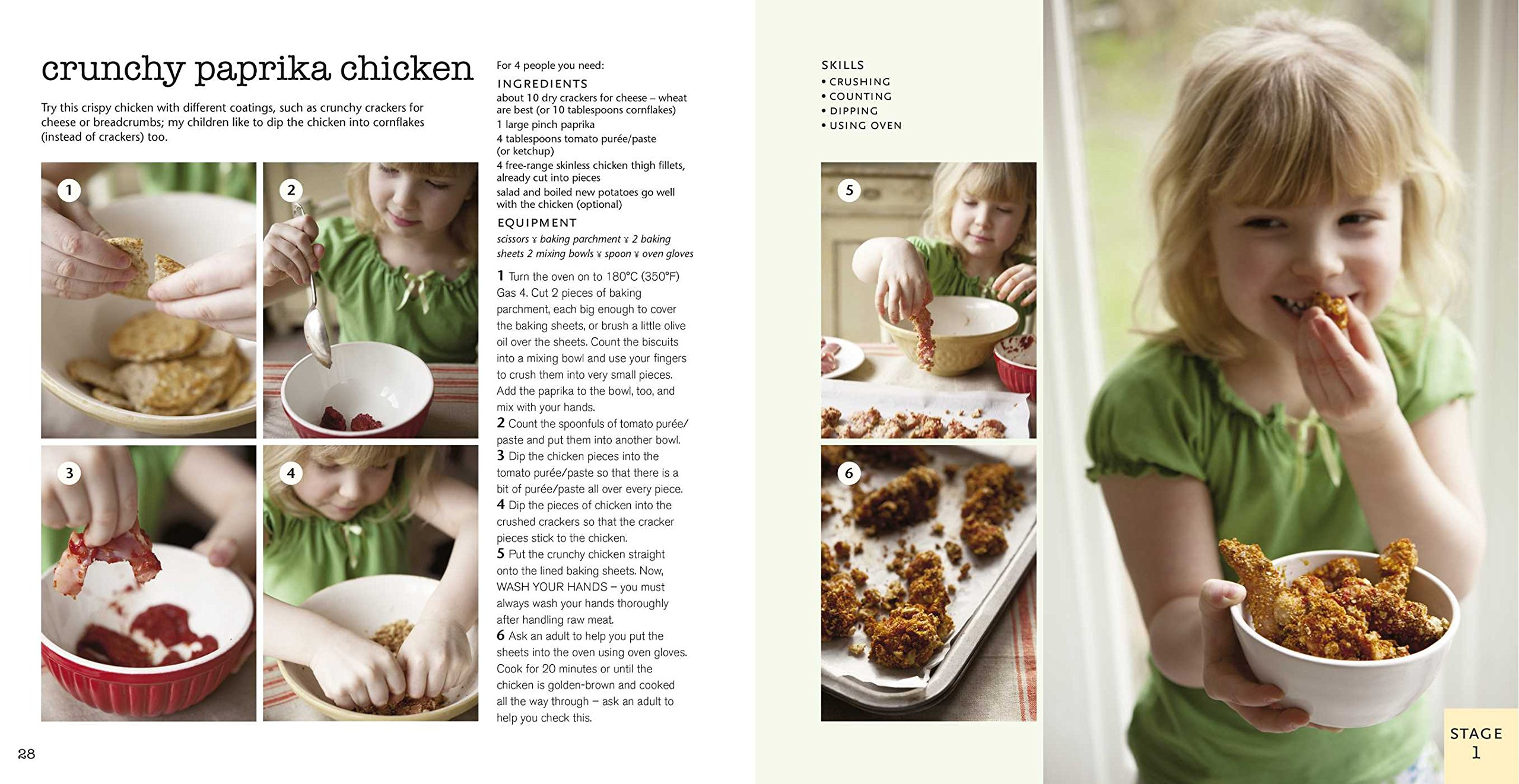 Kids in the Kitchen: More than 50 fun and easy recipes to suit your ...