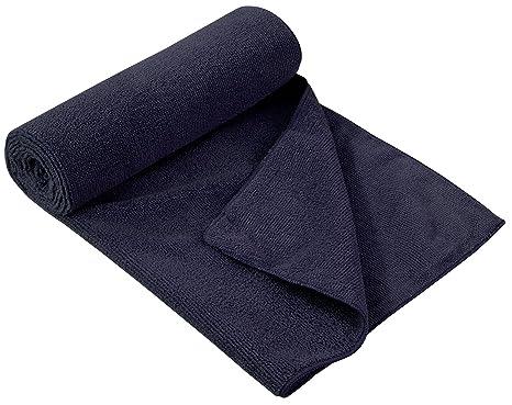 Rizo Viaje Toallas de mano en diferentes tamaños y colores, azul oscuro, small