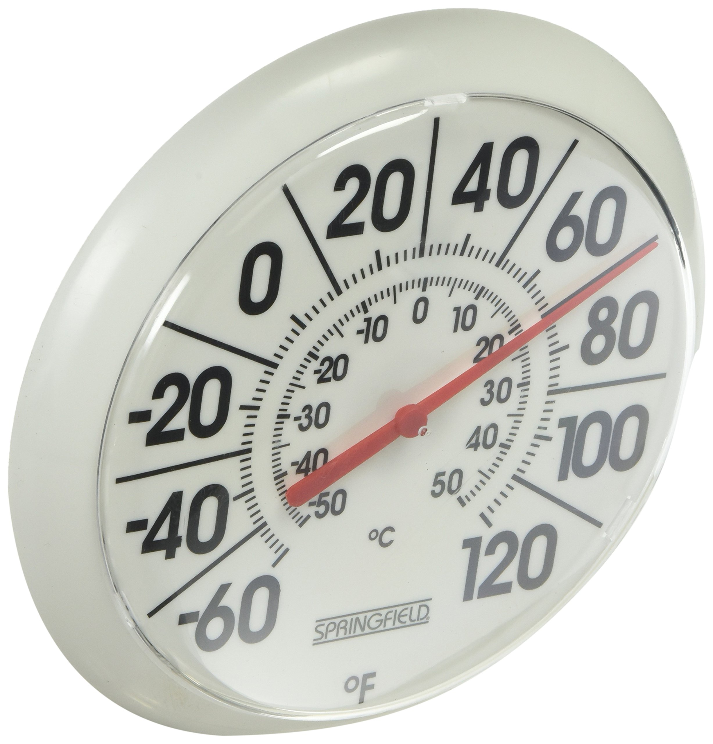 Taylor Precision Products Springfield Indoor/Outdoor Thermometer (8-inch)