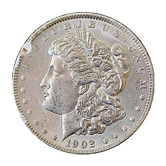 1902 P Morgan Silver Dollar $1 Brilliant Uncirculated